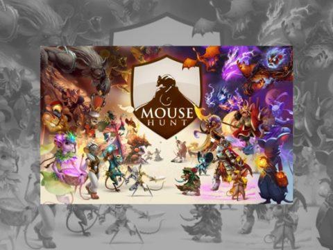 Halloweenska akcia MouseHunt news item