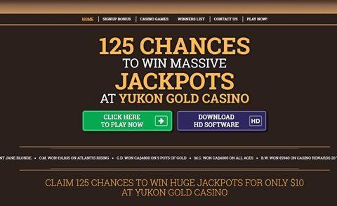 Yukon Casino vstupný bonus news item
